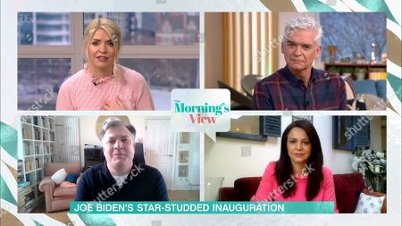 Holly Willoughby, Phillip Schofield, Ed Balls and Beverley Turner