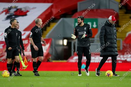 Editorial picture of Liverpool v Burnley, Premier League, Football, Anfield, Liverpool, UK - 21 Jan 2021