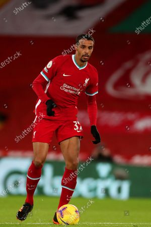 Editorial image of Liverpool v Burnley, Premier League, Football, Anfield, Liverpool, UK - 21 Jan 2021