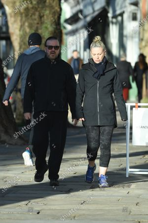 Exclusive - Ricky Gervais and Jane Fallon