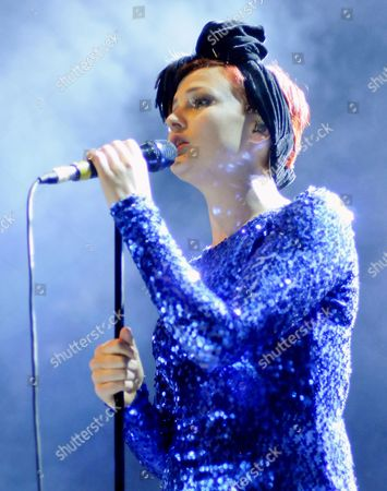 Editorial picture of Alphabeat in concert at The Picture House, Edinburgh, Scotland, Britain - 22 Apr 2010