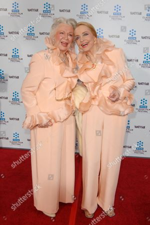 Ann Rutherford and Anne Jeffreys