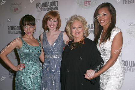 Leslie Kritzer, Erin Mackey, Barbara Cook and Vanessa Williams