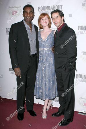 Norm Lewis, Erin Mackey and Matthew Scott