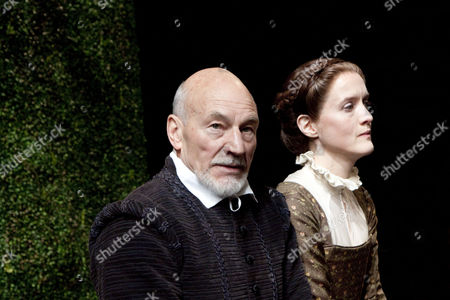 Sir Patrick Stewart as William Shakespeare, Catherine Cusack as Judith