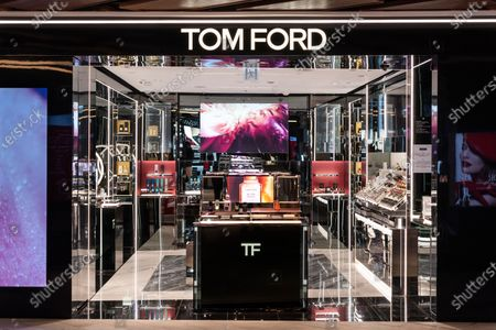 Luxury brand Tom Ford store seen in Hong Kong.