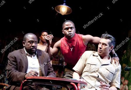 'Ruined' - Lucian Msamati (Christian), Okezie Morro (Jerome Kisembe), Silas Carson (Mr Harari)