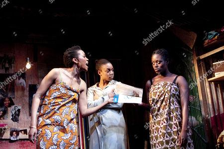 'Ruined' -  Kehinde Fadipe (Josephine), Pippa Bennett-Warner (Sophie), Michelle Asante (Salima)
