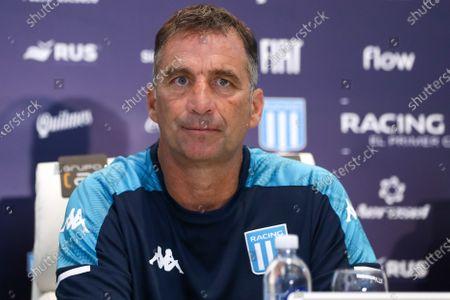 Editorial image of Juan Antonio Pizzi presented as new Racing coach, Buenos Aires, Argentina - 21 Jan 2021