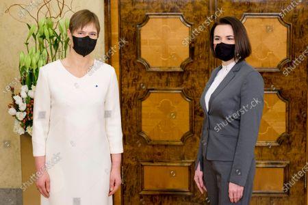 Editorial picture of Belarus, Tallinn, Estonia - 21 Jan 2021