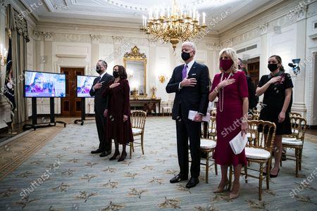 Editorial picture of Virtual Presidential Inaugural Prayer Service, Washington, District of Columbia, USA - 21 Jan 2021