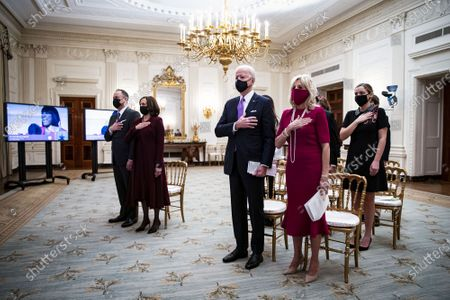 Editorial image of President Biden First Day in Office, Washington DC, USA - 21 Jan 2021