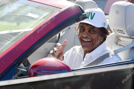 Editorial image of Exclusive - Johnny Mathis out and about, Brentwood, Los Angeles, California, USA - 21 Jan 2021
