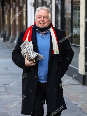 Nick Ferrari out and about, London