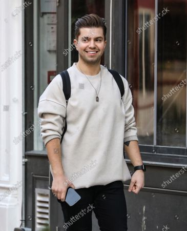 Sonny Jay out and about, London