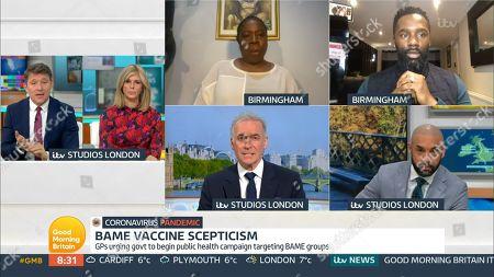 Editorial photo of 'Good Morning Britain' TV Show, London, UK - 22 Jan 2021