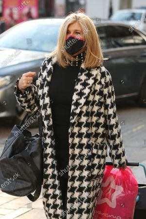 Editorial picture of Kate Garraway out and about, London, UK - 22 Jan 2021