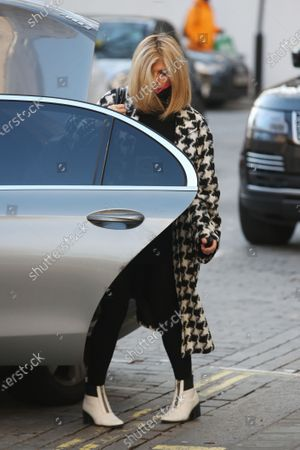 Editorial image of Kate Garraway out and about, London, UK - 22 Jan 2021