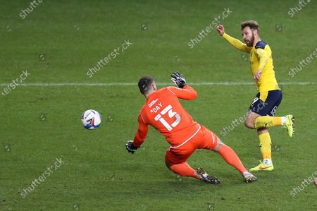 Editorial image of Oxford United v Bristol Rovers, EFL Sky Bet League One, Football, The Kassam Stadium, Oxford, UK - 23 Jan 2021