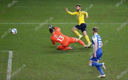 Editorial picture of Oxford United v Bristol Rovers, EFL Sky Bet League One, Football, The Kassam Stadium, Oxford, UK - 23 Jan 2021