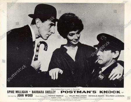 John Wood, Barbara Shelley, Spike Milligan