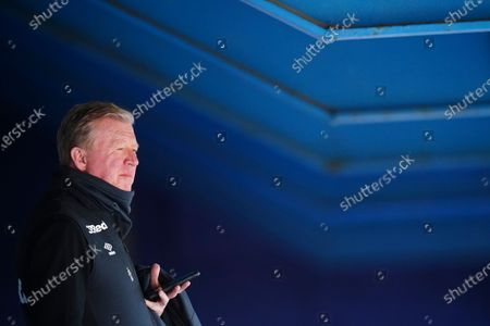 Ex-England and QPR manager Steve McClaren, now technical director of Derby County, looks on before kick off