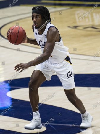 Berkeley, CA U.S.A. California Joel Brown (1) brings the ball up court during the NCAA Men's Basketball game between UCLA Bruins and the California Golden Bears 57-61 lost at Hass Pavilion Berkeley Calif. Thurman James / CSM