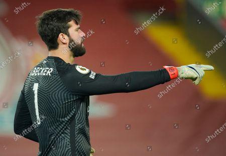 Alisson Becker of Liverpool