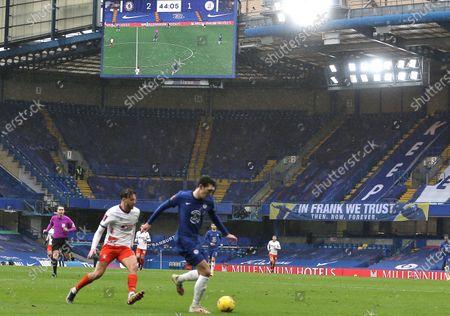 Editorial photo of Chelsea v Luton Town, Emirates FA Cup, Fourth Round, Football, Stamford Bridge, London, UK - 24 Jan 2021