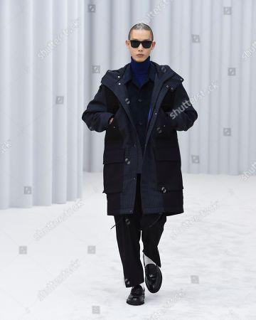 Editorial image of Paul Smith show, Runway, Autumn Winter 2021, Paris Fashion Week Men's, France - 22 Jan 2021