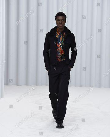 Editorial photo of Paul Smith show, Runway, Autumn Winter 2021, Paris Fashion Week Men's, France - 22 Jan 2021