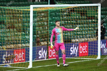 Stock Image of Daniel James Bentley of Bristol City