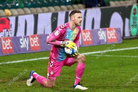 Stock Photo of Daniel James Bentley of Bristol City
