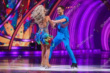 Editorial image of 'Dancing On Ice' TV show, Series 13, Episode 2, Hertfordshire, UK - 24 Jan 2021