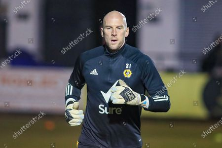 Wolverhampton Wanderers goalkeeper John Ruddy during the FA Cup match between Chorley and Wolverhampton Wanderers at Victory Park, Chorley