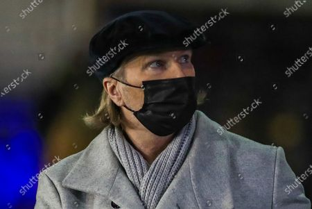 Robbie Savage  during the FA Cup match between Chorley and Wolverhampton Wanderers at Victory Park, Chorley