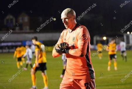 Wolverhampton Wanderers's goalkeeper John Ruddy during the Emirates FA Cup fourth round soccer match between Chorley and Wolverhampton Wanderers at Victory Park in Chorley, England