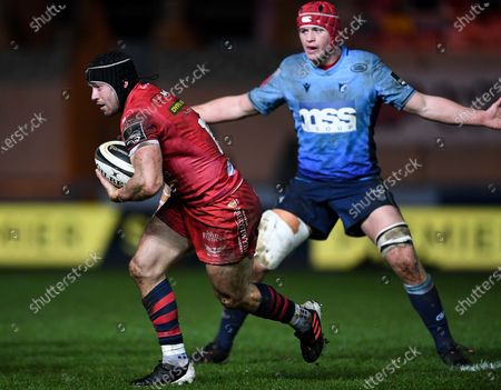 Editorial image of Guinness PRO14, Parc y Scarlets, Wales - 22 Jan 2021