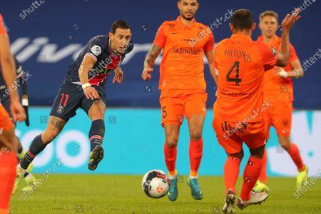 Editorial photo of Soccer League 1, Paris, France - 22 Jan 2021
