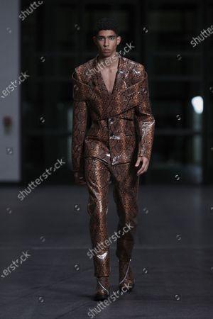 GmbH show, Runway, Paris Fashion Week Men's