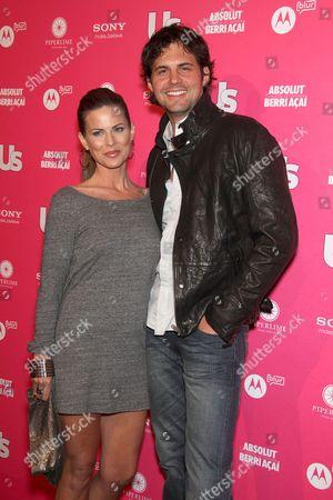 Kristoffer Polaha and Julianne Morris