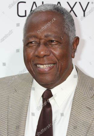 """**FILE PHOTO** Hank Aaron attends the premiere of """" Lee Daniels ' The Butler"""" at The Ziegfeld in New York City on August 5, 2013."""