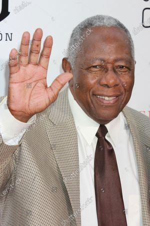 """Hank Aaron attends the premiere of """" Lee Daniels ' The Butler"""" at The Ziegfeld in New York City on August 5, 2013."""