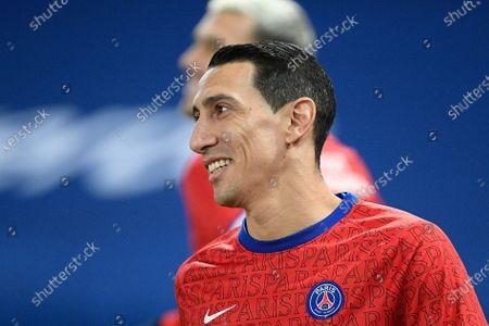 Paris Saint Germain player Angel Di Maria