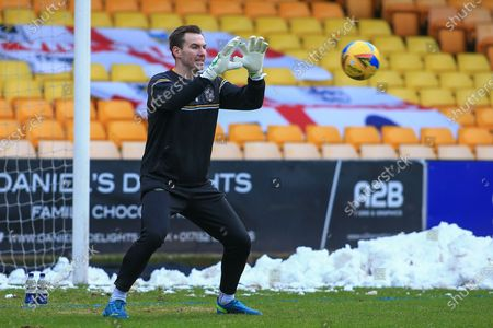 Scott Brown (1) of Port Vale during the EFL Sky Bet League 2 match between Port Vale and Walsall at Vale Park, Burslem