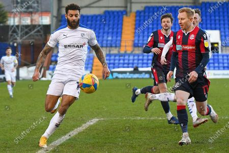 Editorial photo of Tranmere Rovers v Bolton Wanderers, EFL Sky Bet League 2 - 23 Jan 2021