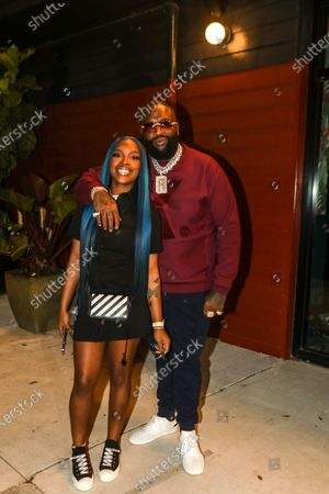 Exclusive - Rick Ross out and about, Miami