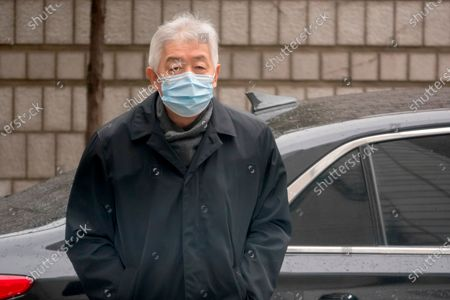 Editorial image of Former top Samsung executives arrive at the Seoul High Court in Seoul, South Korea - 18 Jan 2021