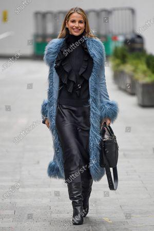 Vogue Williams departs Global Radio Studios