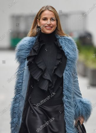 Stock Picture of Vogue Williams departs Global Radio Studios